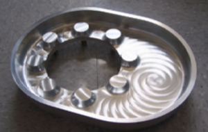 Machined CNC 1-Piece Aluminum Sump for additional corrosion protection in high-wear tank locations.